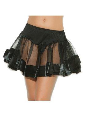 Elegant Moments Lingerie Elegant Moments Lingerie Satin Petticoat (One Size)