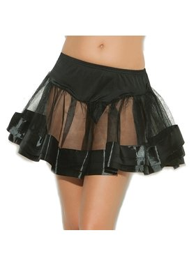 Elegant Moments Lingerie Elegant Moments Satin Petticoat (One Size)