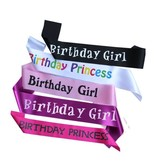 Premium Products Birthday Sash (assorted styles)