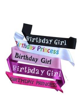 Premium Products Birthday Sash (assorted styles)