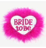 Premium Products Bride To Be Feather Pin