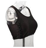 Premium Products Chest Compression Binder: Tank Style (Black)