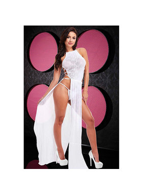 Lapdance Lingerie Cleopatra Comin' Atcha! White Gown