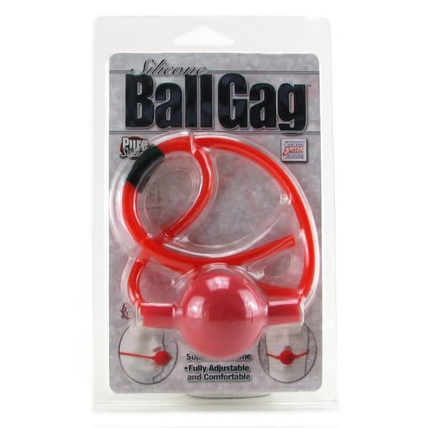 Cal Exotics Silicone Ball Gag (Red)