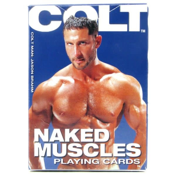 Cal Exotics Colt Naked Muscles Playing Cards