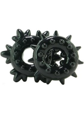NS Novelties Renegade Spike Cock Ring Set