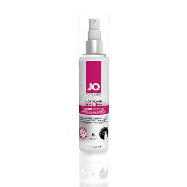 System JO Hot Flash Relief Spray Cooling Body Mist 4 oz
