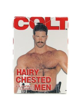 Cal Exotics Colt Hairy Chested Men Playing Cards
