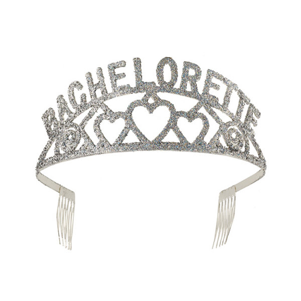 Forum Novelties Bachelorette Glitter Tiara