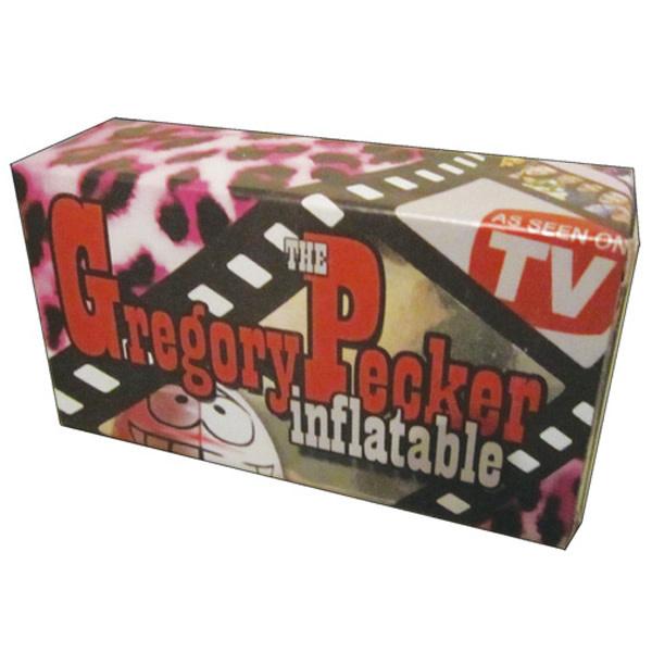 Naughty Originals Inflatable Pecker: Gregory Pecker