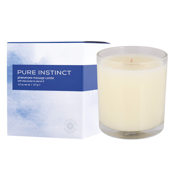 Classic Erotica Pure Instinct Pheromone Massage Candle 5.2 oz (147 g)