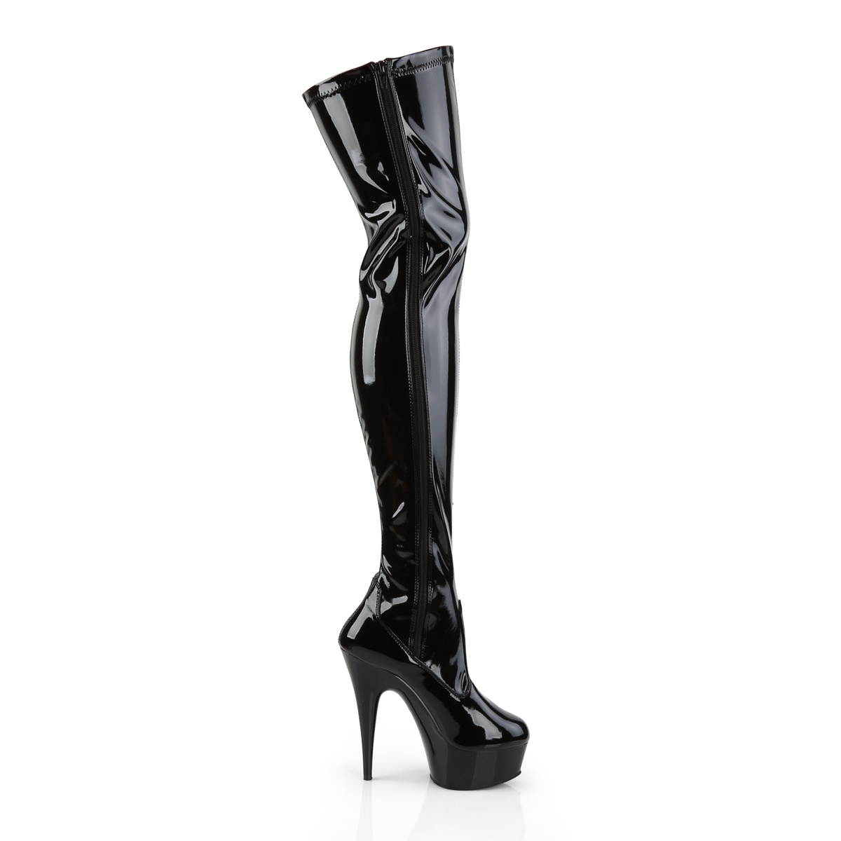 Pleaser USA Pleaser Delight-3050 Thigh High Boot (Size 10)