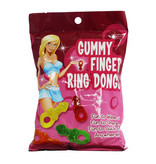 Hott Products Gummy Finger Ring Dongs (Assorted Flavours)