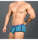 Andrew Christian Menswear Andrew Christian Academy Stripe Boxer w/ Almost Naked