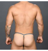 Andrew Christian Menswear Andrew Christian Ring Mesh Thong w/ Almost Naked