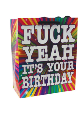 (Gift Bag) Fuck Yeah It's Your Birthday