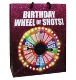 (Gift Bag) Birthday Wheel of Shots...