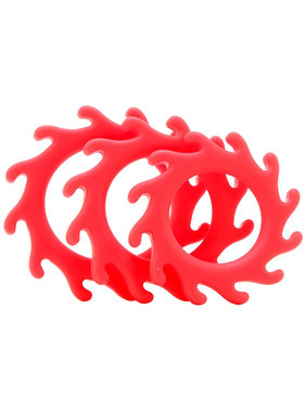 NS Novelties Renegade Gears Cock Ring Set