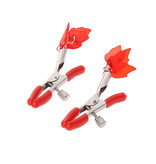 Premium Products Red Flame Nipple Clamps