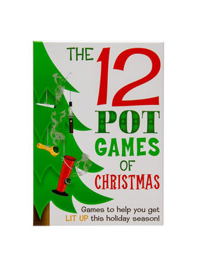 Kheper Games The 12 Pot Games of Christmas Party Game