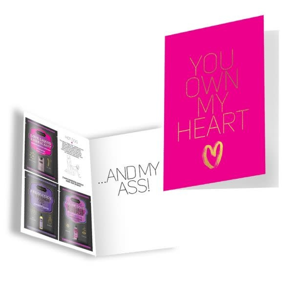 Kama Sutra Kama Sutra Naughty Notes Greeting Card: You Own My Heart