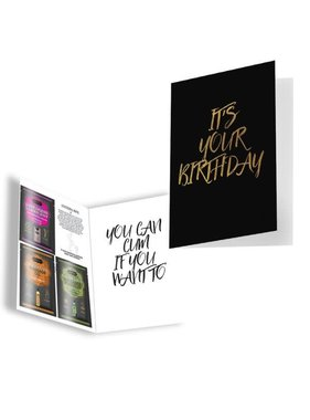 Kama Sutra Kama Sutra Naughty Notes Greeting Card: It's Your Birthday