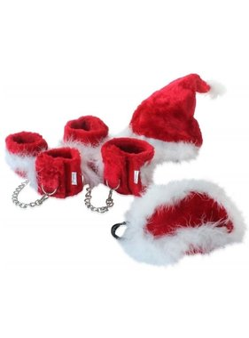 Pipedream Products Fetish Fantasy - Xmas Plush Cuff Set