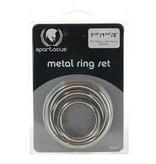 Spartacus Spartacus Metal Cock Ring Set