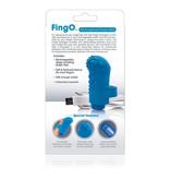 Screaming O Charged: FingO Vooom Mini Vibe (Blue)