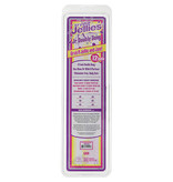 """Doc Johnson Toys Crystal Jellies 12"""" Jr. Double Dong (Clear)"""