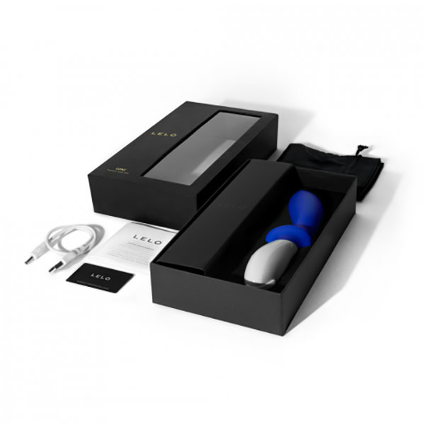 LELO Pleasure Objects Lelo Loki Prostate Massager (Federal Blue)