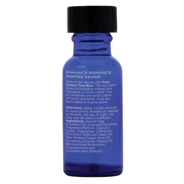 Classic Erotica Pure Instinct Unisex Pheromone Fragrance Oil True Blue 0.5 oz (15 ml)