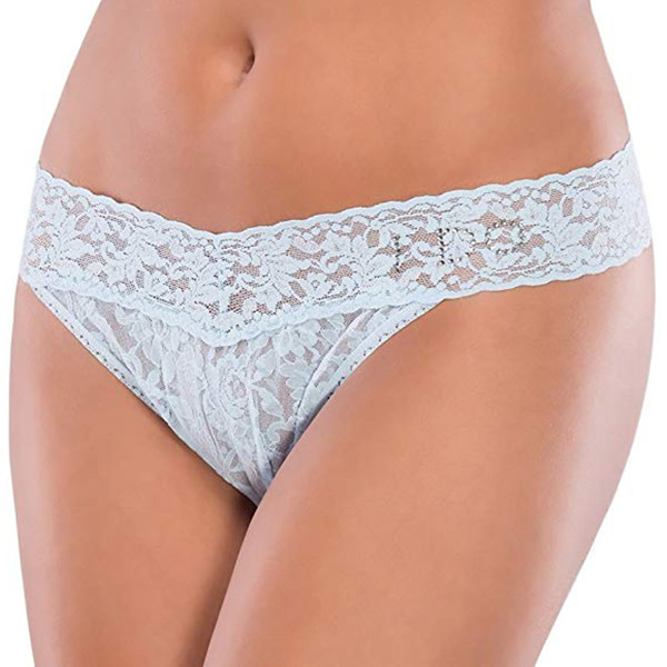 "Coquette International Lingerie Coquette ""I Do"" White Thong (One Size)"