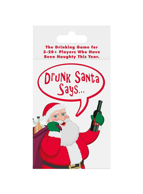 Kheper Games Drunk Santa Says... Holiday Party Game