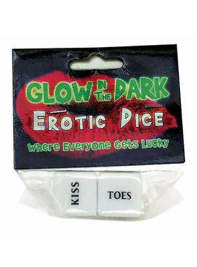 Erotic Dice (Glow In The Dark)