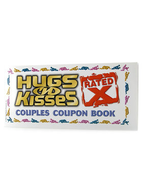 Pipedream Products Hugs and Kisses Coupon Book - X Rated
