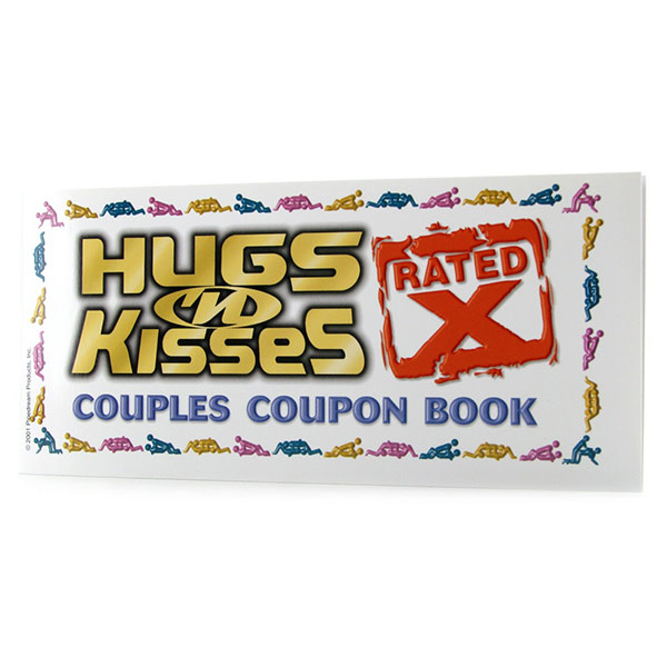 Pipedream Products Hugs 'N Kisses Coupon Book - X Rated