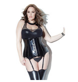 Coquette International Lingerie Coquette Wetlook Waistcincher