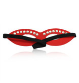 Premium Products Red Leather Mysterious Mask