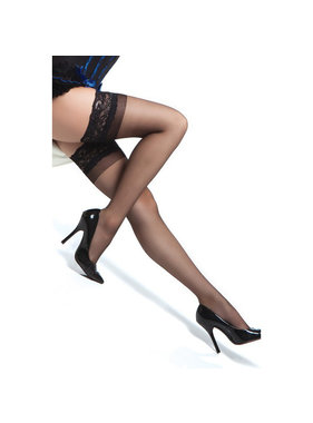 Coquette International Lingerie Coquette Thigh High Stay Up Stocking (One Size)