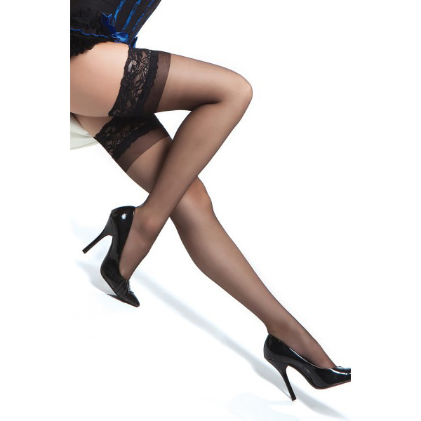 Coquette International Lingerie Thigh High Stay Up Stockings