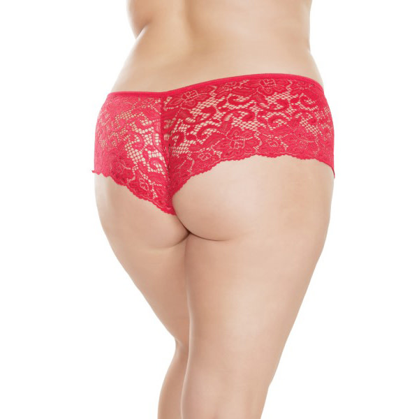 Coquette International Lingerie Lace Booty Shorts