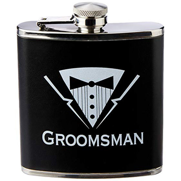 Forum Novelties Bachelor Party Groomsman Flask