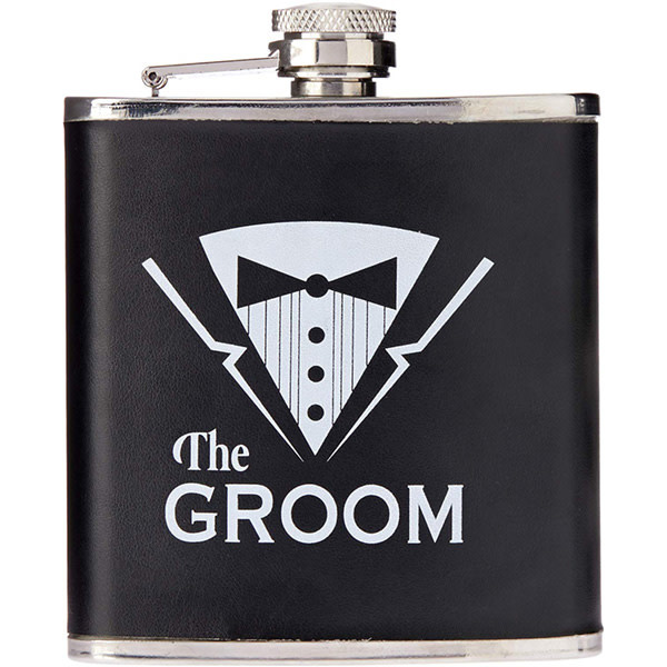Forum Novelties Bachelor Party Groom Flask