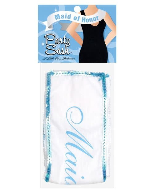 Little Genie Maid of Honor Party Sash