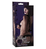 Doc Johnson Toys Black Rose Vixen Vines Whip