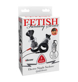 Pipedream Products Fetish Fantasy Shock Therapy: Electro Nipple Suckers
