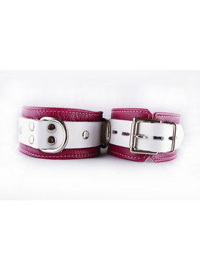 Aslan Leather Inc. Aslan Pink Candy Ankle Cuffs