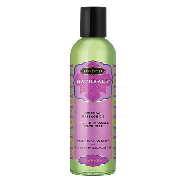 Kama Sutra Kama Sutra Naturals Massage Oil 2 oz (59 ml)