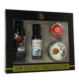Earthly Body Earthly Body Hemp Seed Tasty Travel Set (Strawberry)